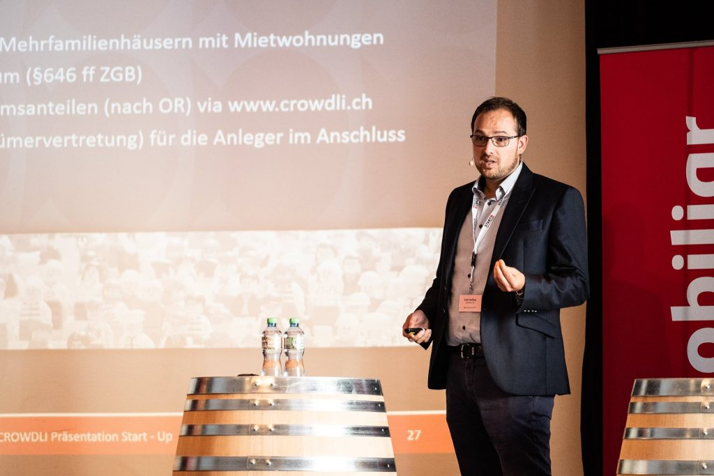 CROWDFUNDING Startup Real estate Immobilien